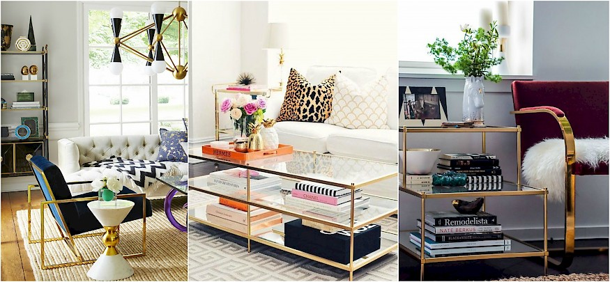 5 ways to add gold to your interior Image 3